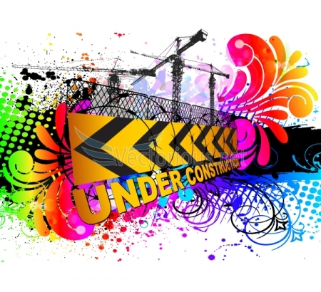 3403-colorful under construction sign