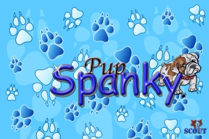 Pup Spanky FB Banner